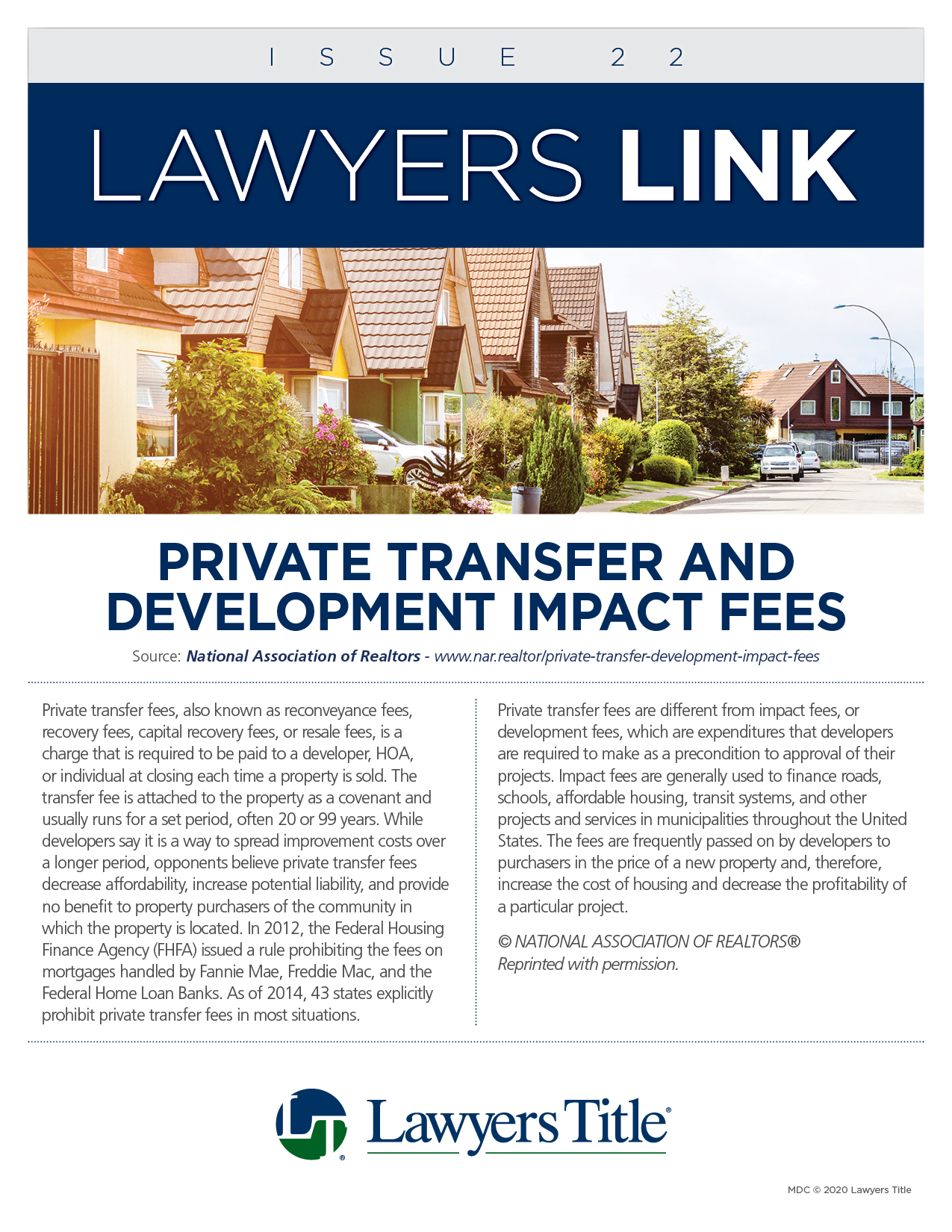 Lawyers Link Issue 22, page 1