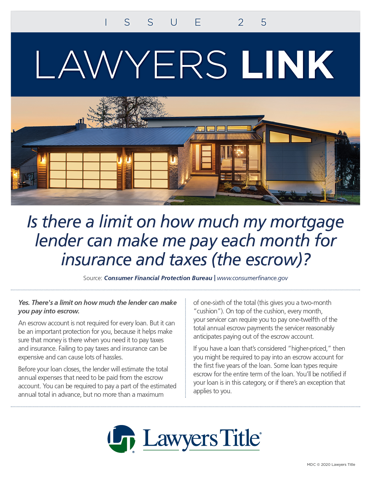 Lawyers Link Issue 25, page 1